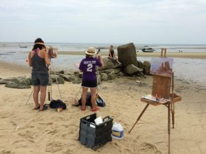 sarah provincetown beach painting
