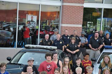 Shop With a Cop - Back to School, 2015