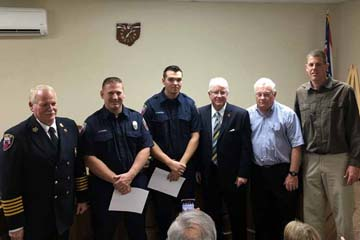 New Firefighters Swearing-in Ceremony