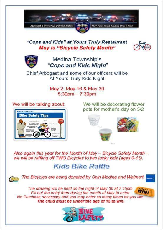 Previous MTPD Events | Medina Township Police Department